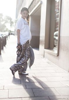Rei's Pants (ok, and earring) - Garance Doré