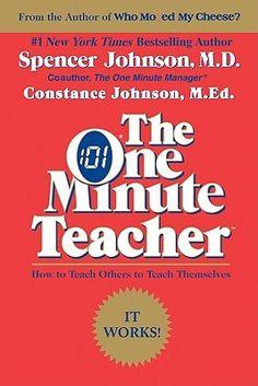 The One Minute Teacher - professional development read