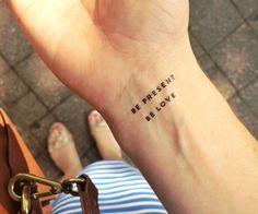 inspirational temporary tattoos shop | Jess Lively