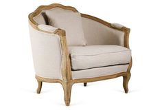 Maison Accent Chair, Oatmeal