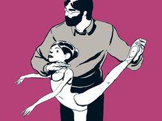"""Polina: BD inspirée de la danseuse._____________ 2/2 _ """"In Berlin verliebt  Gerade die Darstellung der harten Arbeit auf dem Weg zur Profi-Ballerina liest sich im Comic ähnlich wie in Polina Semionovas offizieller Biografie von Gerhard Haase-Hindenberg (""""Polina – Aus der Moskauer Vorstadt auf die großen Bühnen der Welt"""", Verlag vgs, Köln 2010). Darin geht es, wie im Comic, viel um die Entbehrungen auf dem Weg an die Spitze. """"Wenn man zu bequem wird, hört man auf, nach neuen Wegen zu suchen…"""