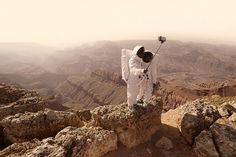 'Greetings from Mars' Photo Series by Julien Mauve
