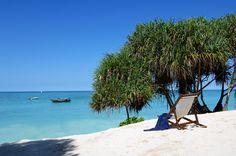 La playa de Nungwi,