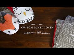 How to Create a Custom Duvet Cover with Lia Griffith! - Spoonflower Blog – DIY Fabric, Wallpaper, Decals and Gift Wrap