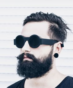 NEW Tee Shirt Hipster Beard Face Glasses BIO Hypebeast Barbe Lunettes Organic