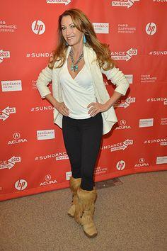 Jane Seymour at the Sundance Film Festival