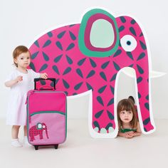 #Lässig 4 Kids • WILDLIFE Collection • #travel #zaino #valigia #trolley #bambini #kids #viaggiare #vacanza #elephant #elefante #animali