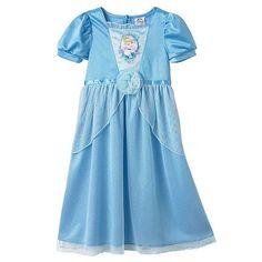 Disney Princess Cinderella Dress-Up Nightgown - Toddler