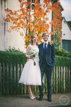 Bride and groom, Autumn Leaves, Wedding Photography