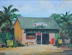 Alexander Grocery | by Lilly Abbott #LillyAbbott #Oil #CedarStreetGalleries