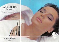 Beauty And Fashion Vintage Makeup Ads, Vintage Beauty, Picture Makeup, Swedish Actresses, Face Study, Isabella Rossellini, Lancome Paris, Beauty Ad, Ingrid Bergman