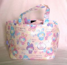 ♥B-day gift from Greivin♥ Sanrio Hello Kitty bunny tote bag