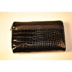 Croco Bidente Cosmetic Case | chicandtrendywoman.com