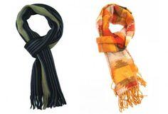 4 dicas para usar lenços, pashminas, echarpes e cachecóis do jeito certo para sua altura e perfil.