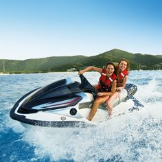 Get revved up and go on a jet ski tour from Airlie Beach to the Whitsunday Islands. #lovewhitsundays #thisisqueensland