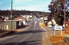 VTG GANGES TOWN & HARBOR SLIDES -SALT SPRING ISLAND- BRITISH COLUMBIA -EARLY 60s