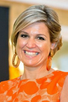 Dutch Queen Maxima issued the Apples of Orange 2014 at Noordeinde Palace in The Hague.