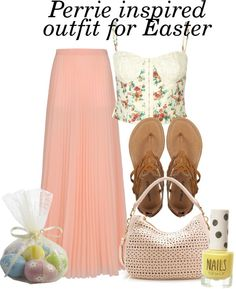 """""""Perrie inspired outfit for an easter picknick"""" by perrie-edwards-outfits ❤ liked on Polyvore"""