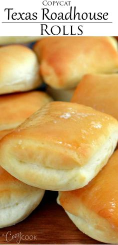 This Easy Texas Roadhouse Rolls recipe tastes just like the restaurant version! … This Easy Texas Roadhouse Rolls recipe tastes just like the restaurant version! Pair it with some honey butter and you have a perfect side dish idea! Dinner Rolls Easy, Sweet Dinner Rolls, Homemade Dinner Rolls, Dinner Rolls Recipe, Homemade Breads, Yummy Rolls Recipe, Sweet Bread Rolls Recipe, Best Homemade Rolls Recipe, Easy Rolls