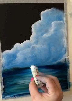 Soft Pastel Art, Pastel Artwork, Oil Pastel Paintings, Oil Painting On Paper, Chalk Pastel Art, Soft Pastels, Crayon Pastel Sec, Crayons Pastel, Jellyfish Drawing