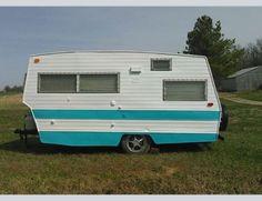 1968 Shasta Pull Behind Bumper Camper Vintage Travel Trailer C10 F100