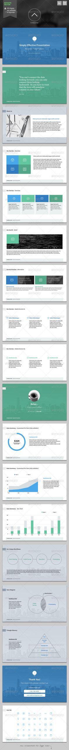 Presentation Templates - Enterprise - Keynote Template   GraphicRiver, presentation, design,