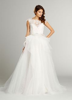 Bridal Gowns, Wedding Dresses by Alvina Valenta - Style AV9552