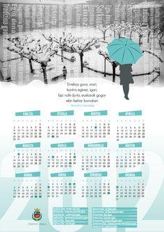 Calendario 2012 / 2012ko egutegia