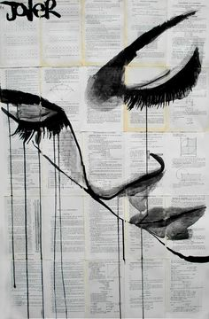 "Saatchi Online Artist: Loui Jover; Pen and Ink, Drawing ""emotion"""