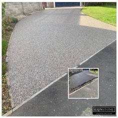 I am very happy with my new driveway. The service provided was excellent. The boys were polite + helpful, willing to answer all my questions. The driveway looks great and the drain cover is almost invisible – A great improvement on the manhole cover