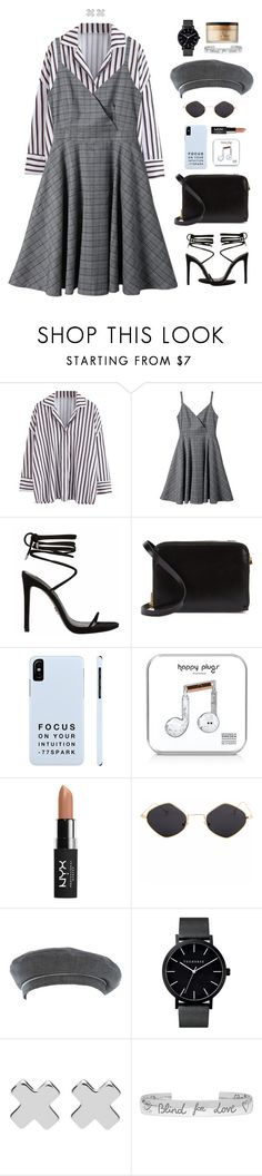 """""""Student life"""" by xoxomuty on Polyvore featuring Sophie Hulme, Happy Plugs, NYX, Hermès, Witchery, Gucci, Too Faced Cosmetics, ootd and polyvoreOOTD"""