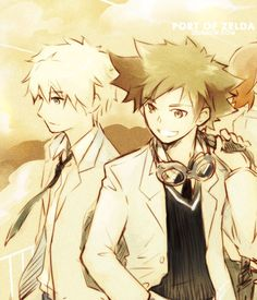 Hikaru and Takeshi, you two stay together !!...   Zelda Personal Blog