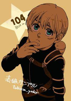 He look so cute! Attack On Titan Jean, Attack On Titan Anime, Demon King Anime, Armin Snk, Nada Personal, Naruto Sasuke Sakura, Kawaii, Boku No Hero Academy, Aesthetic Anime