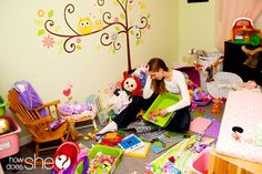 teach your child how to clean any bedroom THIS ARTICLE IS HILARIOUSLY ON POINT! lol... The printable will now be framed and hung in the bedroom hallway. Not just for the kids either. Mommy needs to learn how to clean her room in ten minutes, too. Yeesh.