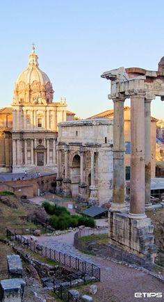 Roman forum Roma