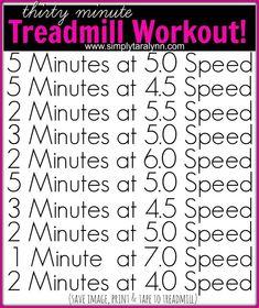 treadmill workout! workout plans, workouts #workout #fitness