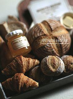 *ハードブレッドセット仕上げ* - *Nunu's HouseのミニチュアBlog*           1/12サイズのミニチュアの食べ物、雑貨などの制作blogです。