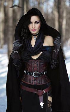 The Witcher 3 Wild Hunt Yennefer Cosplay The Witcher 3, The Witcher Cosplay, Yennefer Cosplay, Zatanna Cosplay, Witcher Art, Witcher 3 Yennefer, Yennefer Of Vengerberg, Fantasy Women, Fantasy Girl