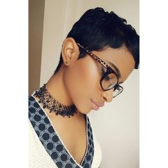 In the same way, short pixie haircut is a way of showing that your brave. Because short pixie cuts. Short Sassy Hair, Girl Short Hair, Short Pixie, Short Hair Cuts, Short Hair Styles, Natural Hair Styles, Pixie Cuts, Pixie Cut Black Girl, Short Relaxed Hair