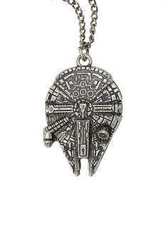 Star Wars Millennium Falcon Necklace   Community Post: 40 Pieces Of Jewelry Every Nerd Will Love