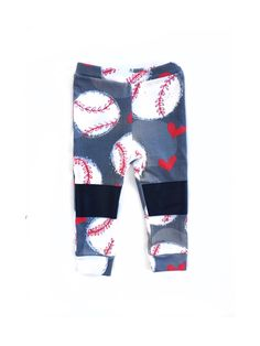 A personal favorite from my Etsy shop https://www.etsy.com/listing/266312326/baseball-baby-girl-leggings-baby