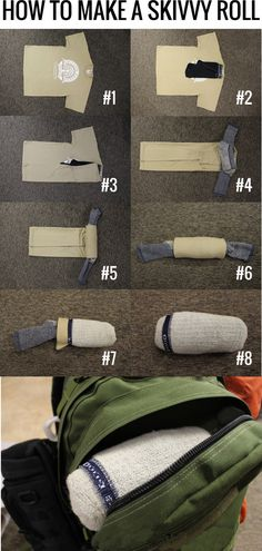 Might stretch your socks a little, you could use some para cord instead then you also have rope if you need it.  #camping #survival #prepper