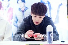 [PIC] 151021 SPAO Fansign- Xiumin (cr top star news)