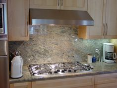 Charming Granite Backsplash