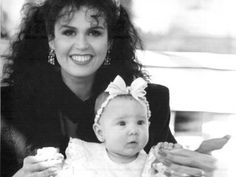 Marie Osmond, with daughter.
