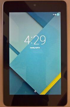 ASUS Google Nexus 7 (1st Gen) 32GB Wi-Fi 7in  Black