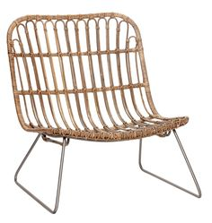 Lounge chair korgstol