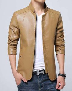 Cheap jacket skin, Buy Quality mens leather bomber jacket directly from China leather bomber jacket Suppliers: Men's Leather bomber Jackets Skin 2016 New Arrival Casual Brand Black Mens Coat Motorcycle Jacket Pu Spring Autumn Plus Size Leather Jackets Online, Leather Men, Leather Collar, Casual, Men's Jackets, Bomber Jackets, Fashion Brand, Men Fashion, Clothes