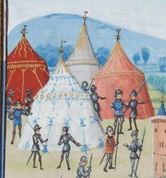 « Chroniques sire JEHAN FROISSART » Date d'édition : 1401-1500 Français 2643 Folio 104v
