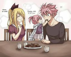 Nalu is awesome if this happend in the manga i would cry that is much I ship them